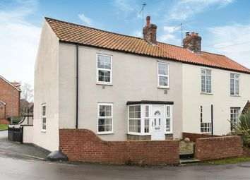 Thumbnail 3 bed semi-detached house for sale in Main Street, Ulleskelf, Tadcaster