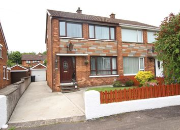 Thumbnail 3 bed semi-detached house for sale in Ferndale Crescent, Newtownabbey
