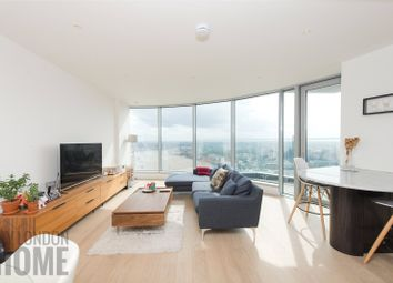 Thumbnail 2 bed flat for sale in Charrington Tower, 11 Biscayne Avenue, New Providence Wharf, London