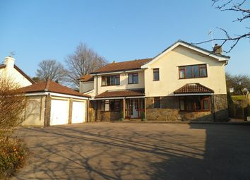 Thumbnail 5 bed detached house for sale in Glanogwr Court, Church Road, Bridgend