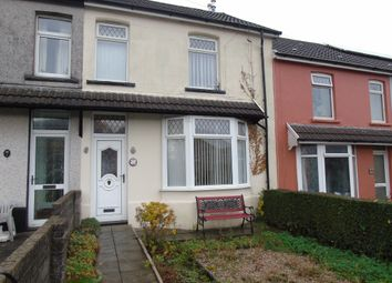 Thumbnail 3 bed terraced house for sale in Heath Terrace, Graigwen, Pontypridd