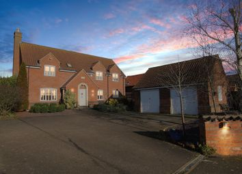 Thumbnail 4 bed detached house for sale in Middle Street, Barkestone, Nottingham