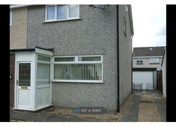 Thumbnail 2 bedroom semi-detached house to rent in Baillie Gardens, Wishaw