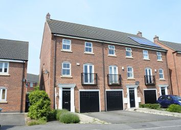 Thumbnail 4 bed town house for sale in Hudson Way, Grantham