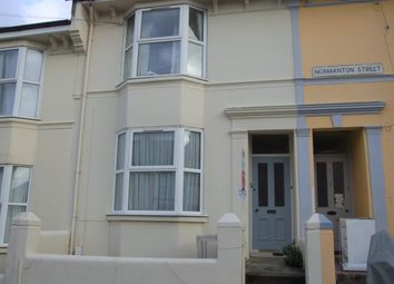 Thumbnail 1 bed flat to rent in Normanton Street, Brighton