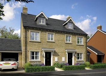 Thumbnail 4 bed terraced house for sale in The Carlisle, Cotswold Gate, Chipping Norton, Chipping Norton