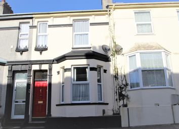Thumbnail 2 bedroom terraced house to rent in York Terrace, Plymouth