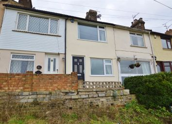 Thumbnail 3 bed terraced house to rent in Knowle Road, Wouldham, Rochester