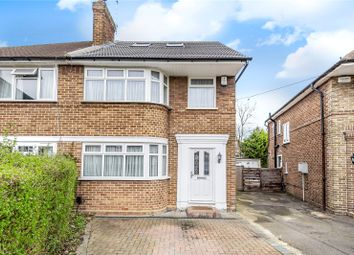 Thumbnail 4 bed semi-detached house for sale in St. James Close, Ruislip, Middlesex