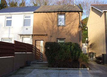 Thumbnail 2 bed semi-detached house for sale in 14 Swan Road, Baglan, Port Talbot