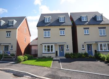 Thumbnail 4 bed detached house to rent in Lynchet Road, Malpas, Cheshire