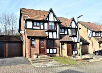 Thumbnail 3 bed semi-detached house for sale in Suffolk Close, Bagshot, Surrey