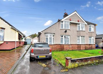 Thumbnail 3 bed semi-detached house for sale in Orchard Avenue, West Dartford, Kent