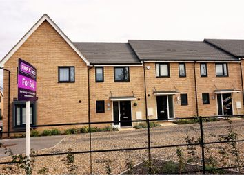Thumbnail 2 bed terraced house for sale in Darwin Walk, Haverhill