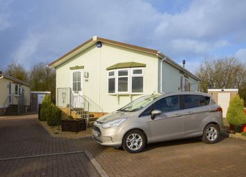 Thumbnail 2 bedroom mobile/park home for sale in Lighthouse Park, St. Brides Wentlooge, Newport