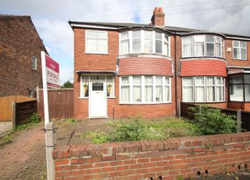 Thumbnail 3 bedroom semi-detached house for sale in Bedford Road, Firswood, Manchester