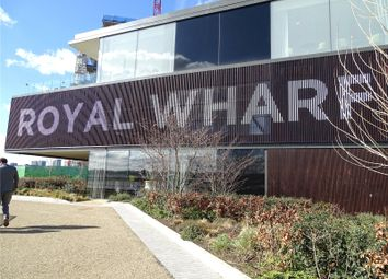 Thumbnail 2 bed property for sale in Windlass House, (F.K.A. Compass House), Royal Wharf, London