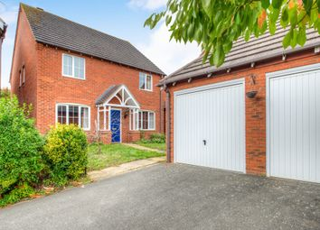 Thumbnail 4 bed detached house for sale in Holyoke Grove, Whitnash, Leamington Spa