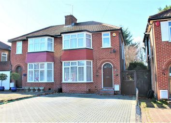 Thumbnail 3 bed semi-detached house for sale in Anmersh Grove, Stanmore, Middlesex