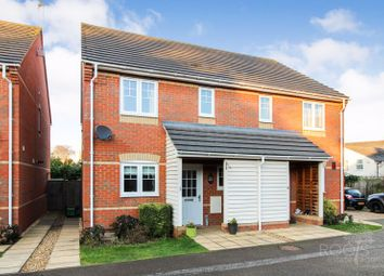 Thumbnail 3 bed semi-detached house for sale in Coral Gardens, Newbury, Berkshire