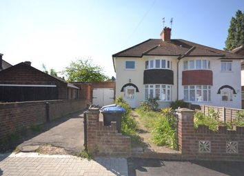 Thumbnail 3 bed semi-detached house for sale in Ash Grove, Sudbury, Wembley