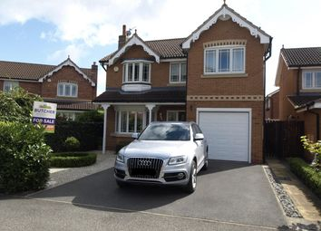 Thumbnail 4 bed detached house for sale in Whinmoor Drive, Clayton West, Huddersfield