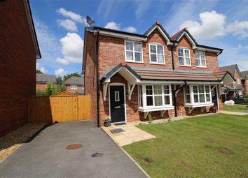 Thumbnail 3 bed semi-detached house for sale in Croft Way, Longridge, Preston