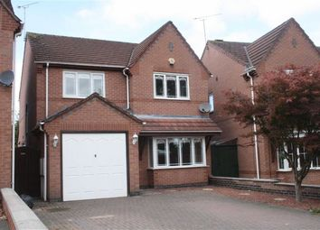 Thumbnail 4 bed detached house for sale in Pine View, Leicester Forest East, Leicester