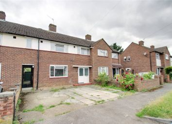 Thumbnail 3 bed terraced house to rent in Fairway, Chertsey, Surrey