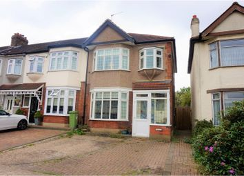 Thumbnail 3 bed end terrace house for sale in Carlton Road, Romford