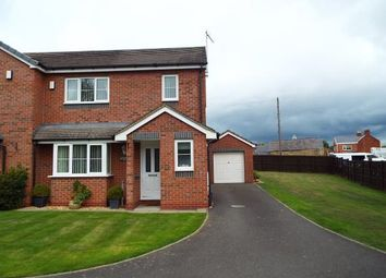 Thumbnail 3 bed semi-detached house for sale in Millfields, Southsea Road, New Broughton, Wrexham