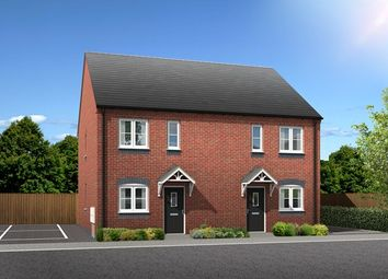 Thumbnail 2 bed semi-detached house for sale in 18, George Sharp Court, Loughborough, Leicestershire