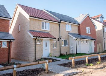 Thumbnail 2 bedroom semi-detached house for sale in Carr Avenue, Leiston, Suffolk