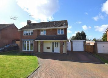 Thumbnail 4 bed detached house for sale in Blythwood Drive, Frimley, Camberley, Surrey