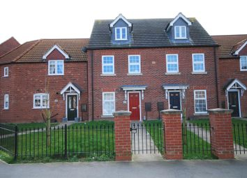 Thumbnail 3 bed terraced house for sale in The Hayfields, Spalding