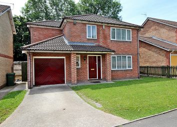 Thumbnail 4 bed detached house for sale in Larch Drive, Cross Inn, Pontyclun, Rhondda, Cynon, Taff.