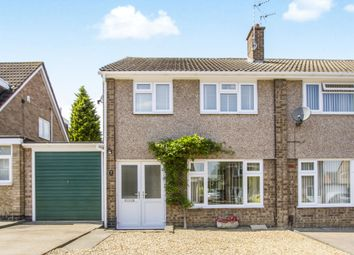 Thumbnail 3 bedroom semi-detached house for sale in Cathkin Close, Leicester