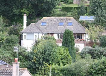 Thumbnail 4 bed detached bungalow for sale in Coombe Vale Road, Teignmouth, Devon