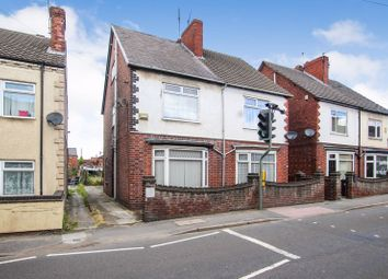 Thumbnail 2 bed semi-detached house for sale in Leabrooks Road, Somercotes, Alfreton