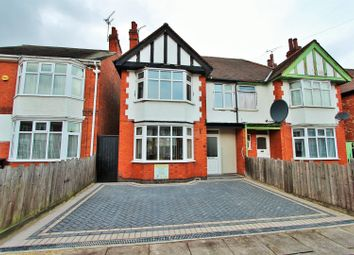 Thumbnail 3 bed semi-detached house to rent in Staveley Road, Leicester