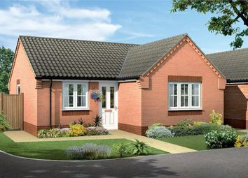 Thumbnail 2 bed detached bungalow for sale in The Larches, Eakring Road, Bilsthorpe, Nottinghamshire