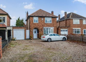 Thumbnail 3 bed detached house for sale in Aylestone Lane, Wigston, Leicester