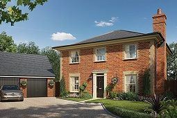 Thumbnail 3 bed detached house for sale in Ashe Road, Tunstall, Woodbridge