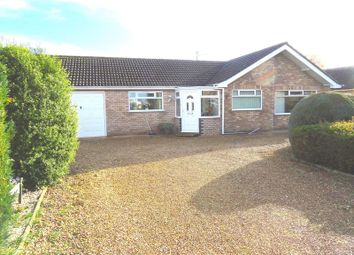 Thumbnail 2 bed detached bungalow for sale in Broadgate, Weston, Spalding