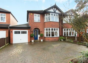 Thumbnail 3 bed semi-detached house for sale in Kempnough Hall Road, Worsley, Manchester, Greater Manchester