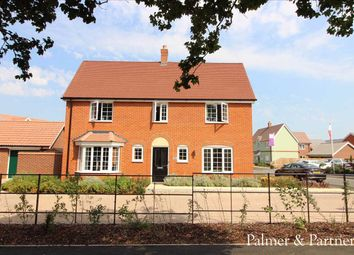 Thumbnail 4 bedroom detached house for sale in Abbott Way, Holbrook, Ipswich