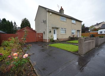 Thumbnail 2 bed semi-detached house for sale in Kinloch Road, Kilmarnock