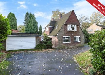 Thumbnail 4 bedroom detached house to rent in Christchurch Road, Wentworth, Virginia Water