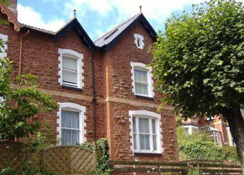 Thumbnail 1 bedroom flat to rent in Walnut Road, Torquay