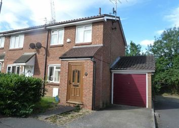Thumbnail 3 bed end terrace house to rent in Dunnock Close, Borehamwood, Herts